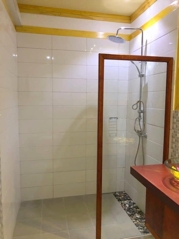 bagno camera deluxe
